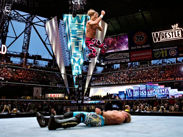 shawn michaels vs chris jericho