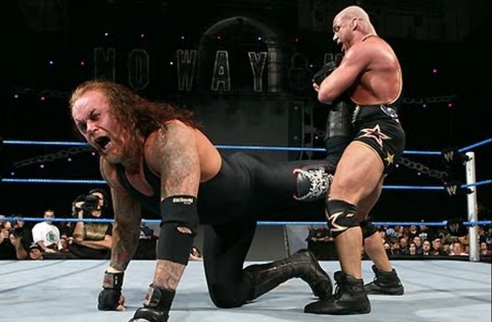 undertaker kurt angle no way out 2006