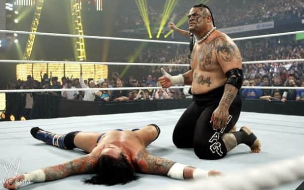 cm punk umaga judgement day 2009