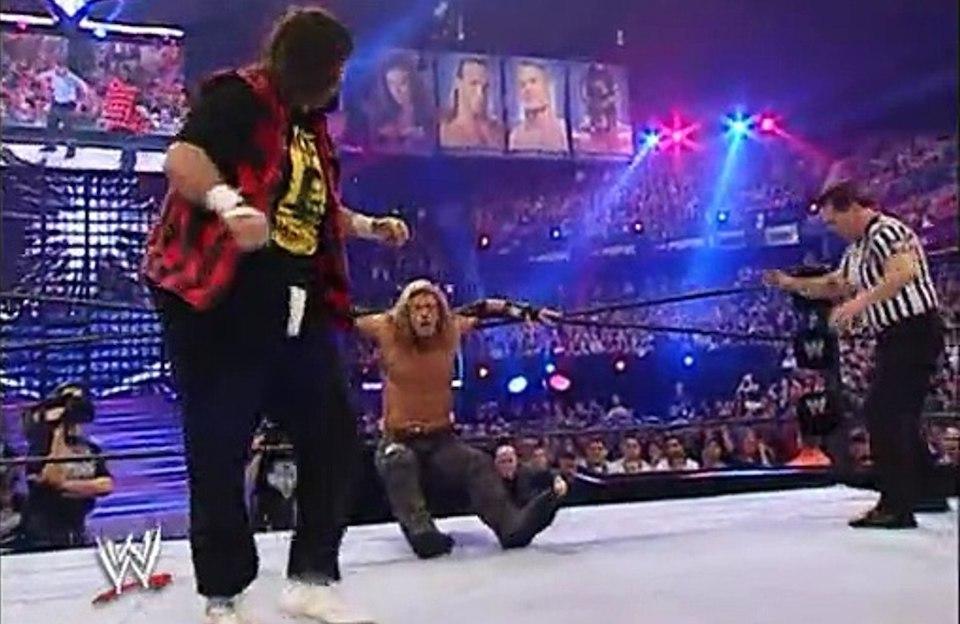 mick foley edge wrestlemania 22