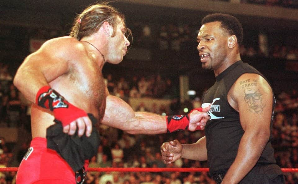 shawn michaels mike tyson wrestlemania 14