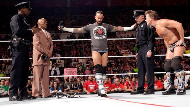 CM Punk Chris Jericho
