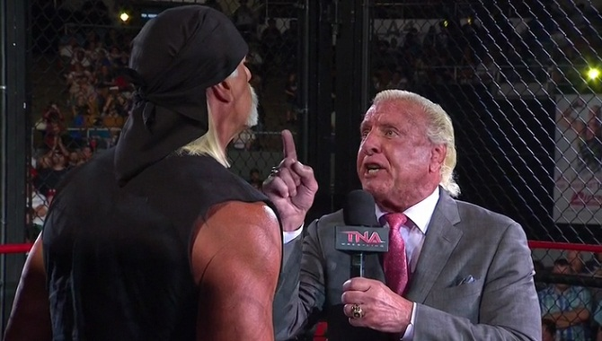 Hulk Hogan, Ric Flair