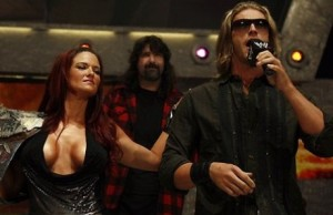 Lita, Mick Foley, Edge