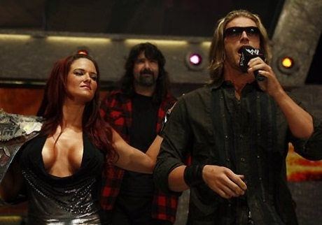 Lita Mick Foley Edge