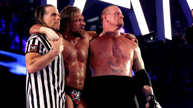 Shawn Michaels, Triple H, Undertaker