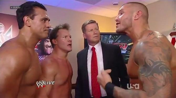Alberto Del Rio Chris Jericho John Laurinaitis Randy Orton