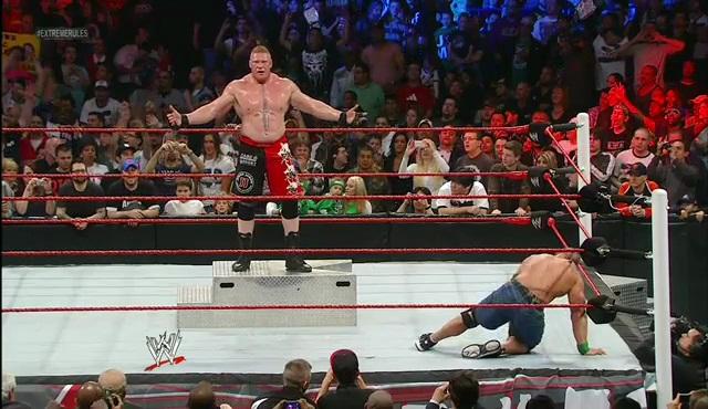 Brock Lesnar John Cena