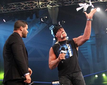 Bobby Roode, Hulk Hogan