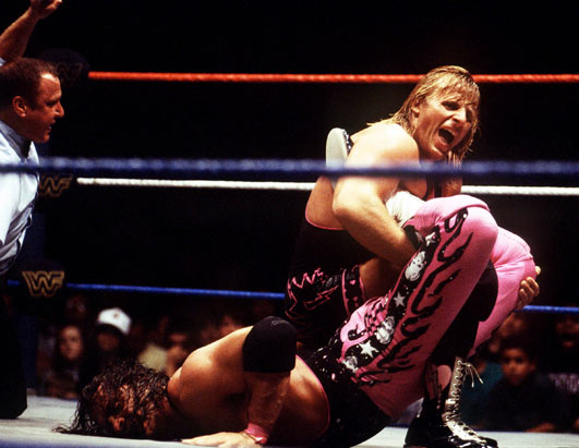 Bret Hart vs Owen Hart