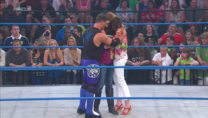 AJ Styles Claire Dixie Carter
