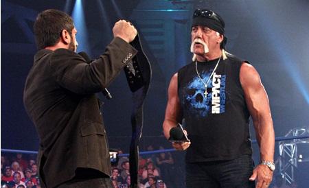 Austin Aries Hulk Hogan.