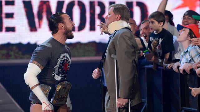 CM Punk John Laurinaitis