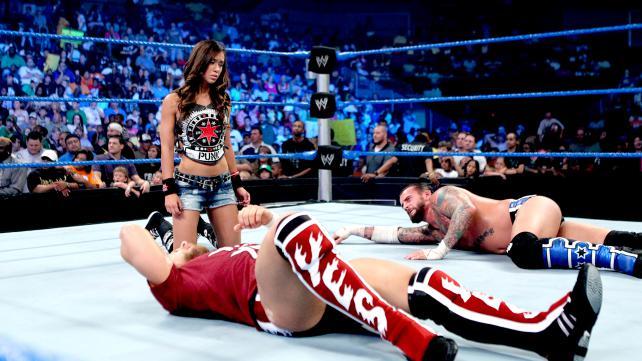 Daniel Bryan CM Punk AJ Lee
