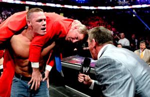 John Cena, John Laurnaitis, Vince McMahon