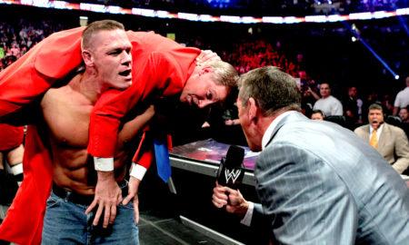 John Cena John Laurnaitis Vince McMahon