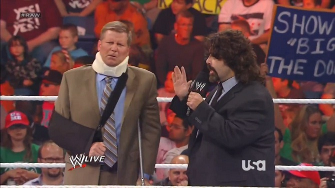 John Laurinaitis Mick Foley