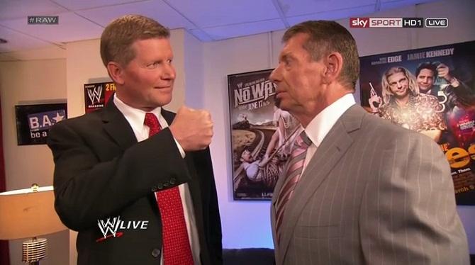 John Laurinaitis Vince McMahon