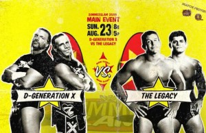 Degeneration X vs The Legacy