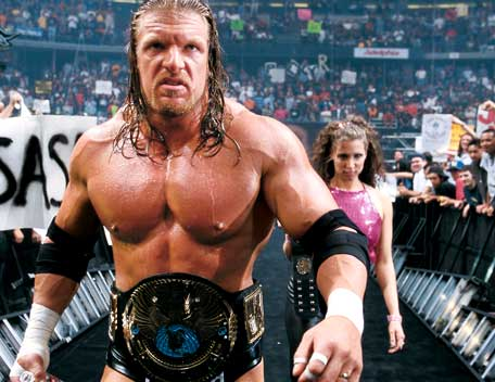 triple h wrestlemania 2000