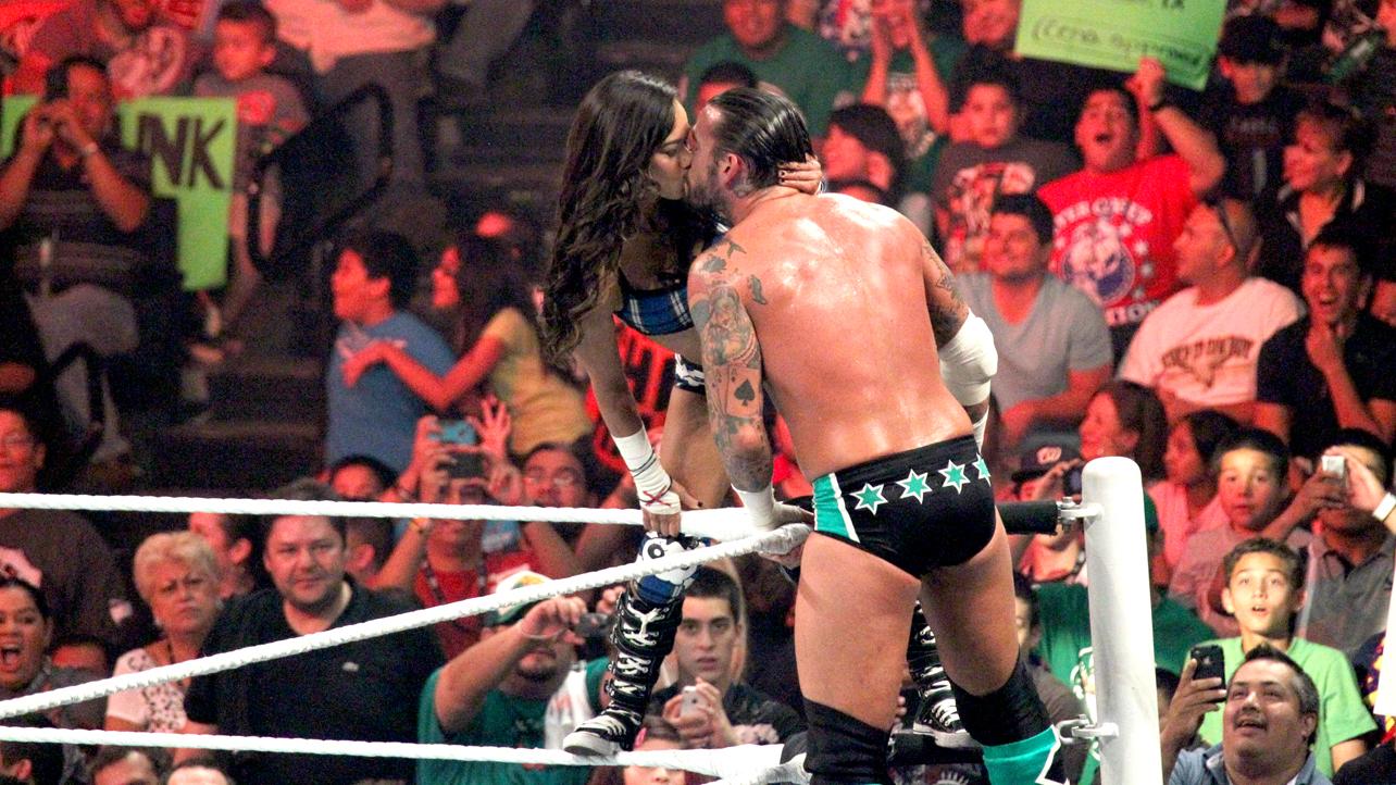 AJ Lee CM Punk