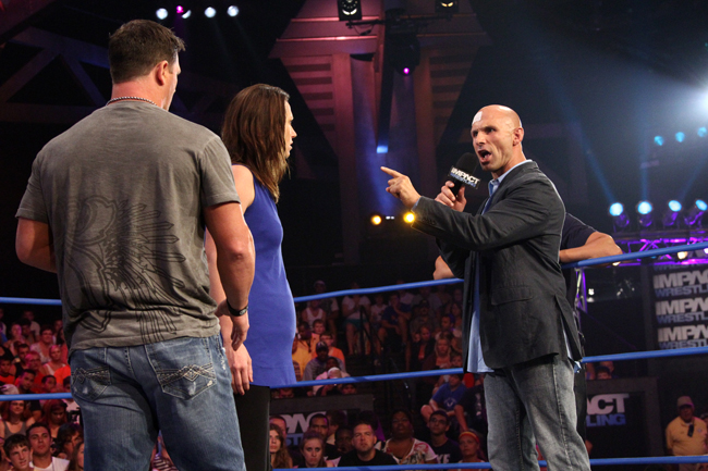 AJ Styles Claire Lynch Christopher Daniels
