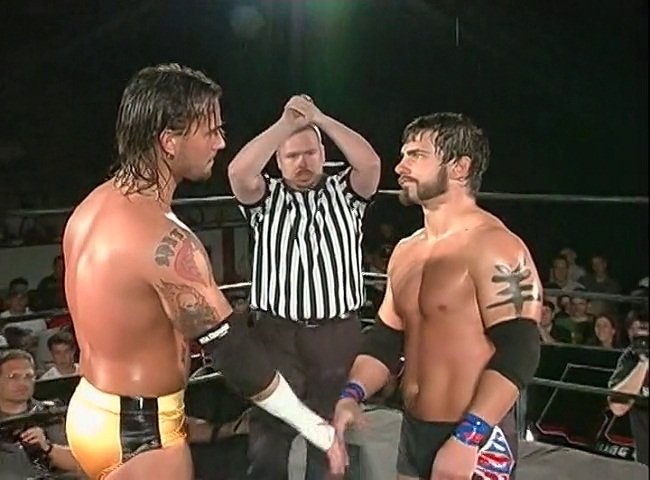 Austin Aries vs CM Punk