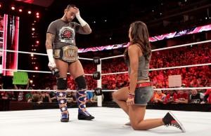 CM Punk, AJ