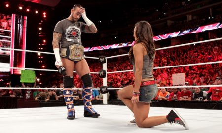 CM Punk AJ