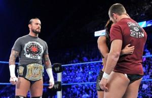 CM Punk, AJ, Bryan