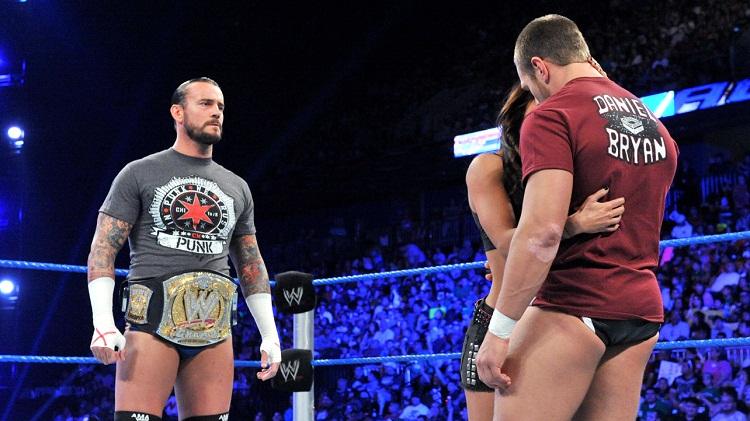 CM Punk AJ Bryan