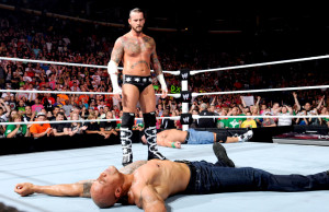 CM Punk GTS The Rock