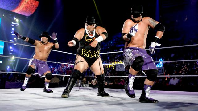 The Usos Rikishi