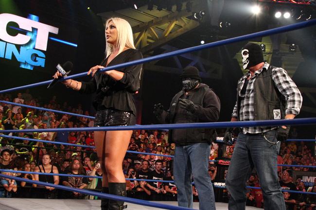 Brooke Hogan Aces Eights