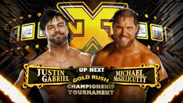 Justin Gabriel vs Michael McGuillicuty