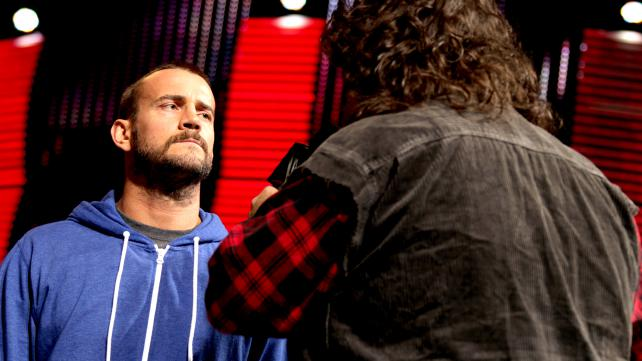 CM Punk Mick Foley