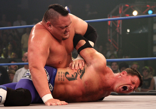 Samoa Joe vs AJ Styles