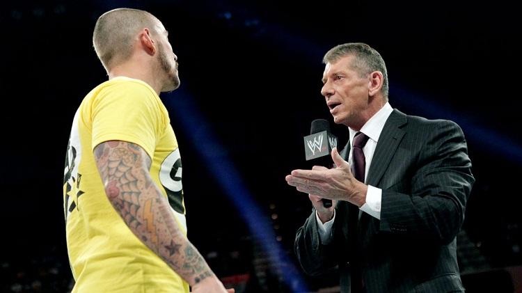 CM Punk Vince McMahon