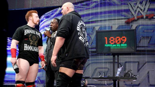 Sheamus Booker T The Big Show