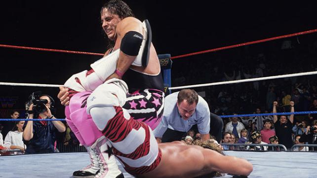 Bret Hart vs Shawn Michaels Survivor Series 1992