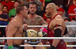 John Cena, CM Punk, Ryback