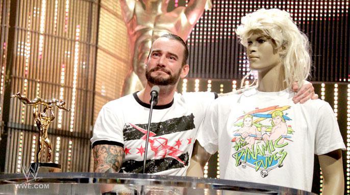 CM Punk Slammy Awards 2011