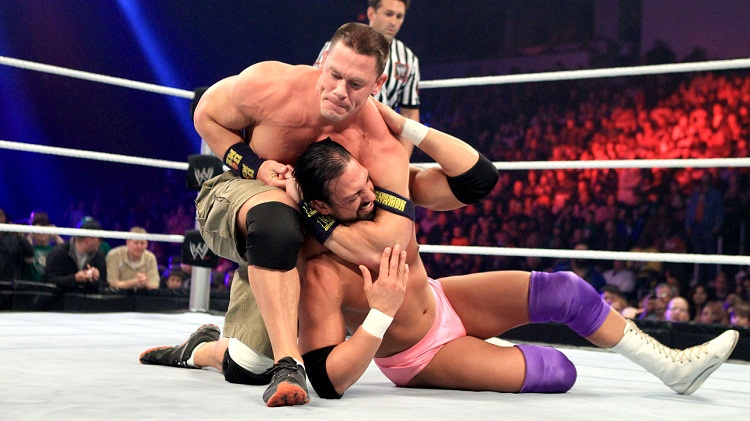 John Cena vs Damien Sandow