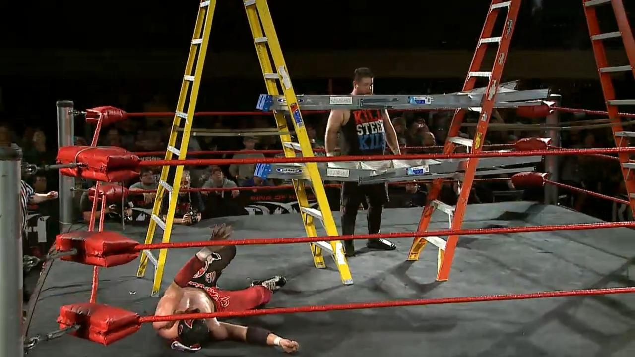 Kevin Steen Doomsday Ladder War