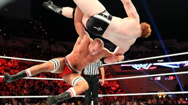 Sheamus vs Antonio Cesaro