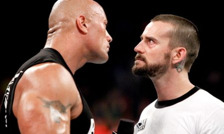 The Rock vs CM Punk