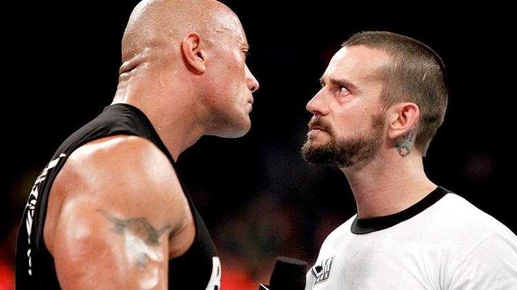 The Rock vs CM Punk
