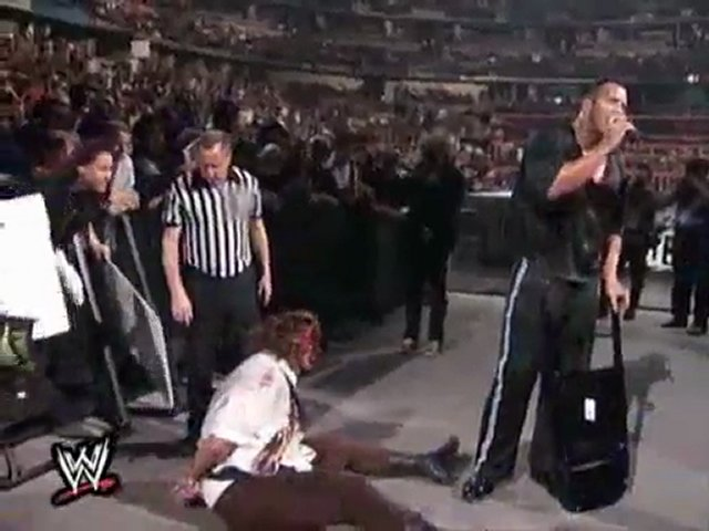 royal rumble 1999 the rock vs mankind i quit match