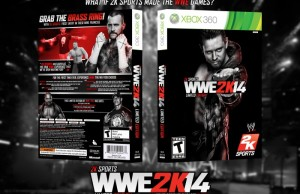 WWE 2K14 fake cover