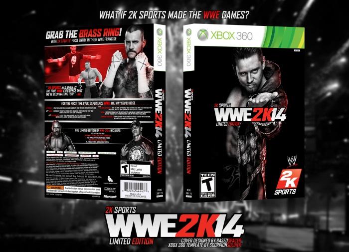 WWE 2K14 fake cover